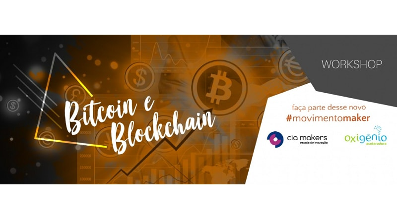 Workshop de Bitcoin e Blockchain da Cia Makers
