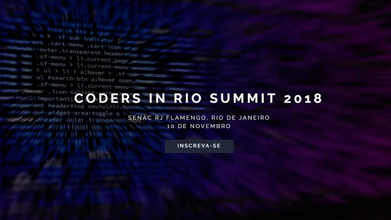 Coders in Rio Summit