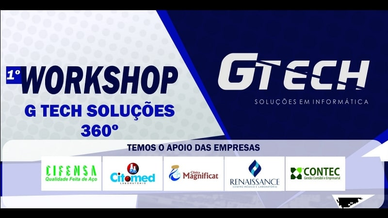 Workshop – G Tech Soluções 360º